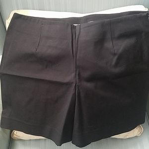 Black dress shorts